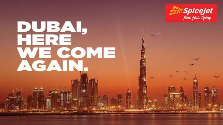 SpiceJet, Dubai, IGI
