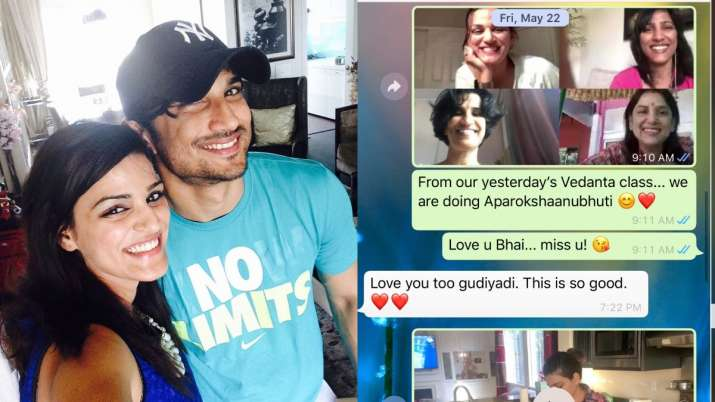 Sushant Singh Rajput's sister Shweta says actor 'loved us dearly'