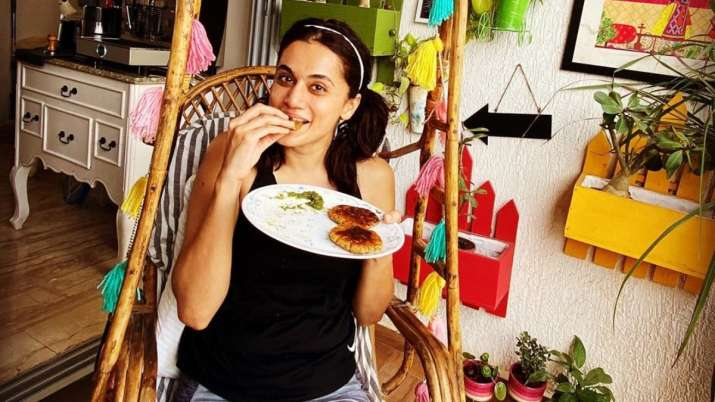 Taapsee Pannu eating right to acquire athlete's look for 'Rashmi Rocket'