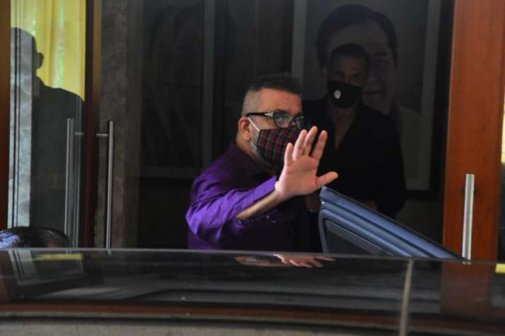 India Tv - Sanjay Dutt discharged from Mumbai's Lilavati hospital