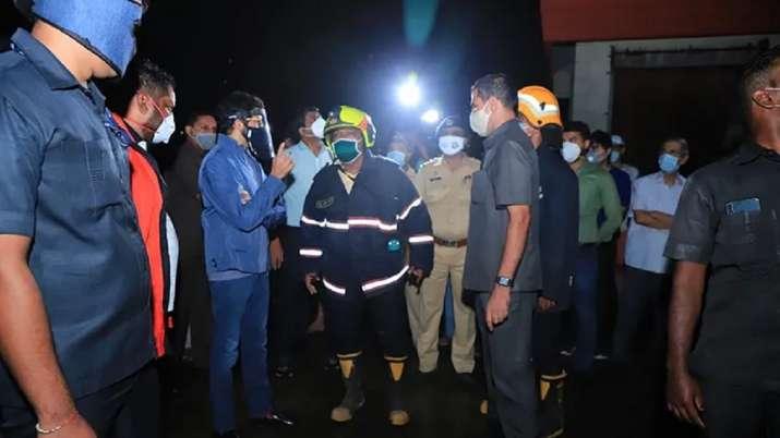 Mumbai: Fire breaks out in Worli high-rise, 10 rescued; Aaditya Thackeray visits spot