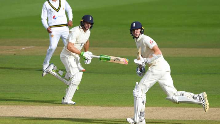 Highlights 3rd Test Day 2 Anderson S Triple Strike After Crawley Buttler Heroics Leaves Pakistan In Tatters Cricket News India Tv