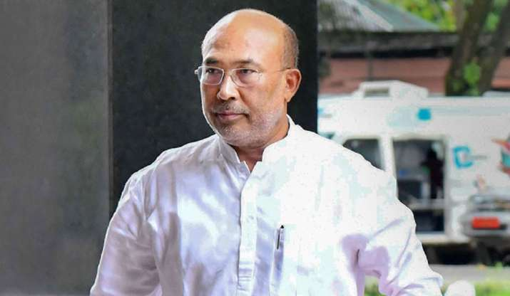 Manipur CM drops three ministers from cabinet