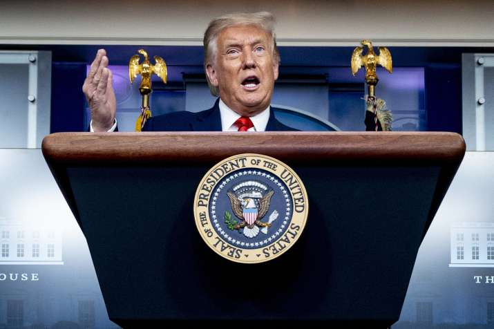 Donald Trump expects Covid-19 vaccine to be available for 'every American' by April