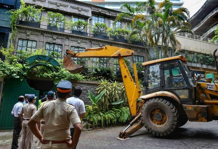 Kangana Ranaut Bandra office, Kangana Ranaut Bandra office demolition, Kangana Ranaut Bandra office