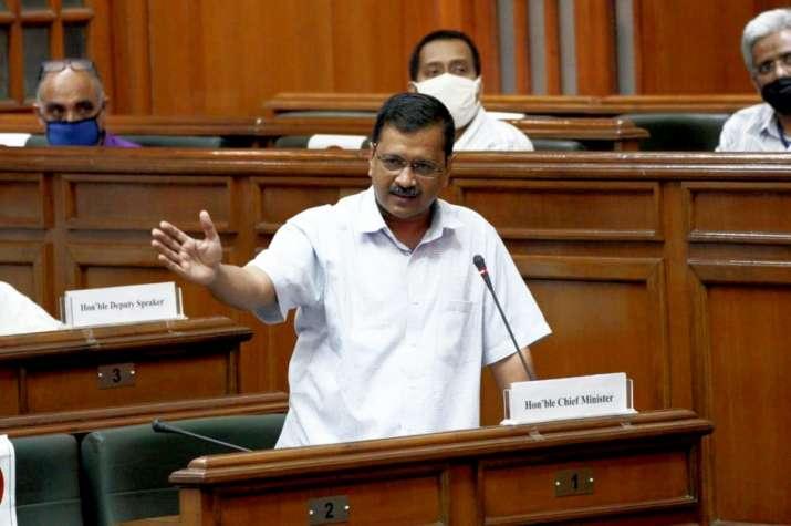 National convener of AAP and Delhi Chief Minister Arvind Kejriwal