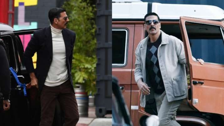 Bell Bottom: Akshay Kumar looks dapper in LEAKED pictures from film sets