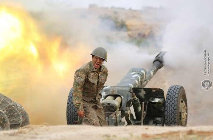 Armenia says warplane downed; Azerbaijan and Turkey deny it