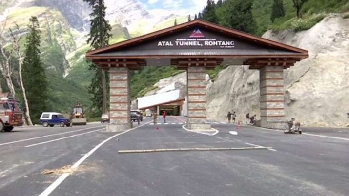 Atal Tunnel, Manali Leh tunnel