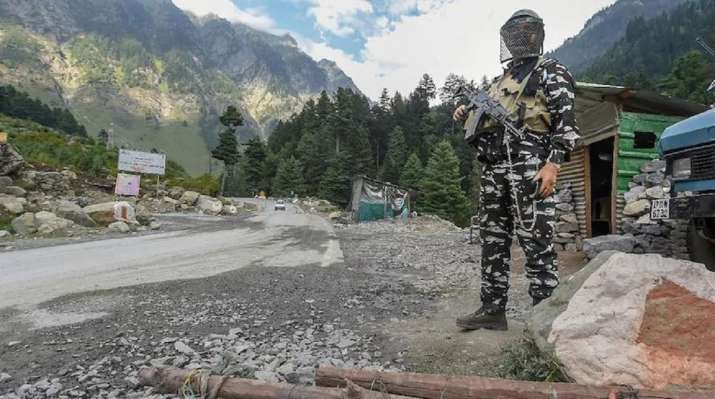 India-China border infiltration