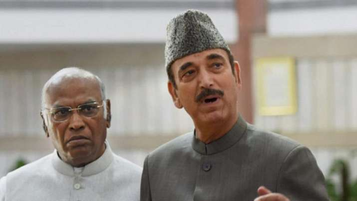 In a major reshuffle, Congress drops Ghulam Nabi Azad, Kharge as party general secretaries