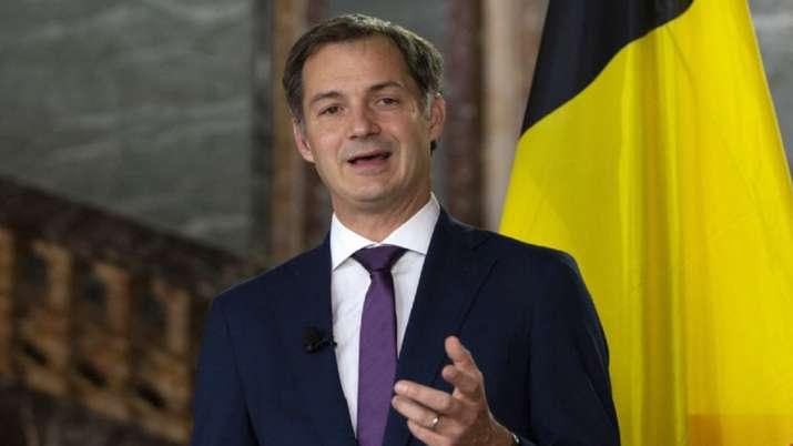 Belgium Prime Minister Alexander De Croo