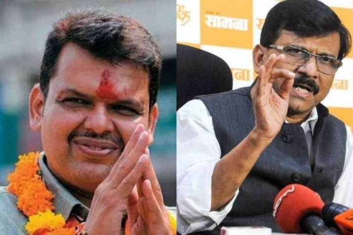 Sanjay Raut ji wanted to take my interview for Saamana, says Former CM Fadnavis