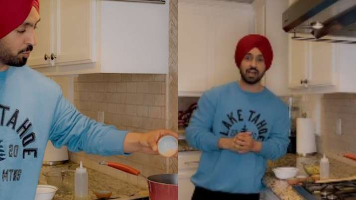 What's cooking in Diljit Dosanjh's kitchen?