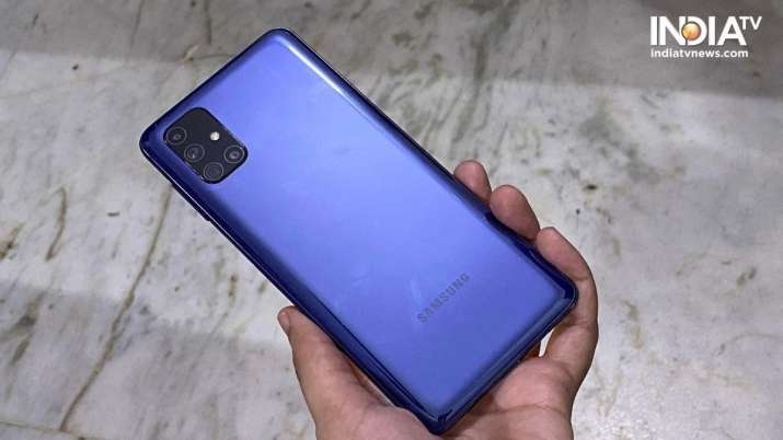 Samsung To Launch Mid Segment Galaxy F Series First In India Technology News India Tv