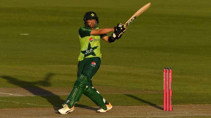 Pakistan's young batsman Haider Ali