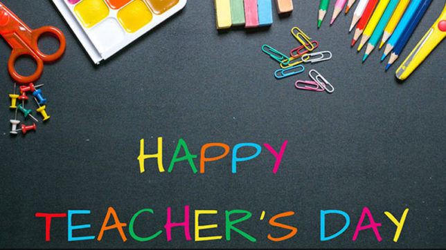 Happy Teachers' Day 2020: Some easy Speech ideas for Teachers' Day speech |  Books News – India TV