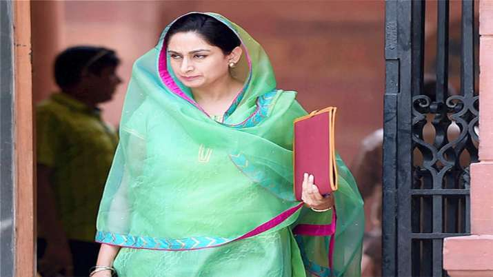 Harsimrat resigns under pressure of Punjab's local politics: BJP