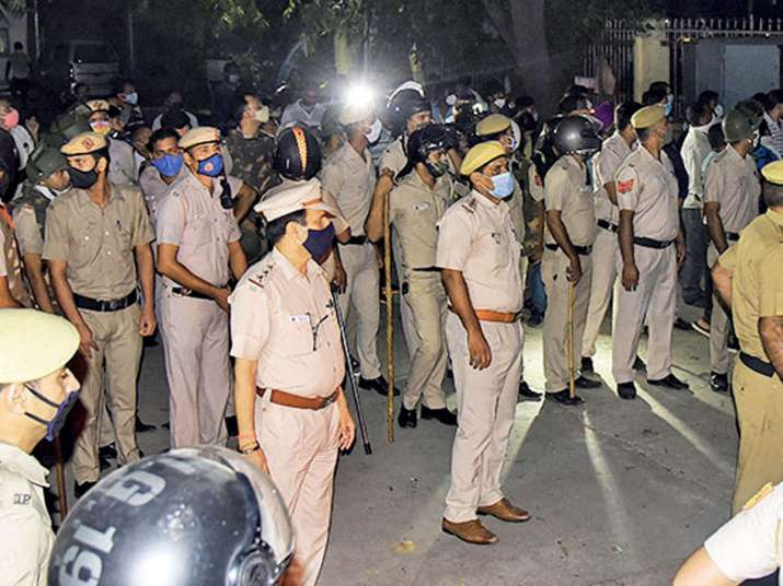 19-year-old Hathras rape victim cremated in dark of night,
