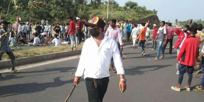 Protesters torch vehicle, vandalise property in Rajasthan's Dungarpur