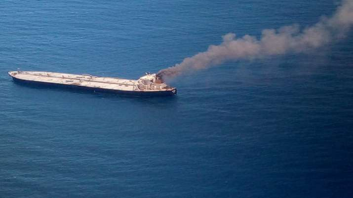 Crude oil carrier MT New Diamond with 2,00,000 metric ton cargo on fire; Sri Lanka seeks India's hel