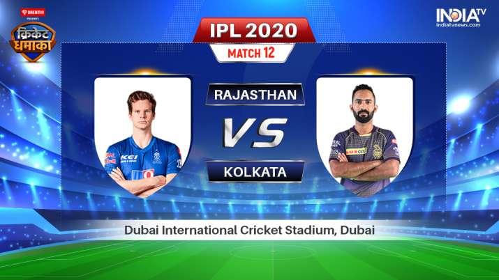 Live IPL Streaming Cricket RR vs KKR: Watch Rajasthan Royals vs Kolkata Knight Riders Live cricket m