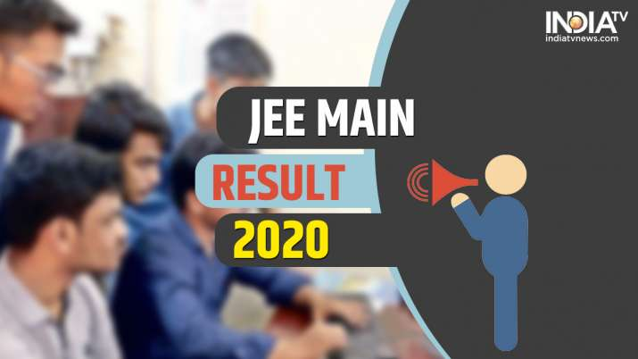 JEE Main Result 2020 DECLARED: Direct link, Steps to download score card
