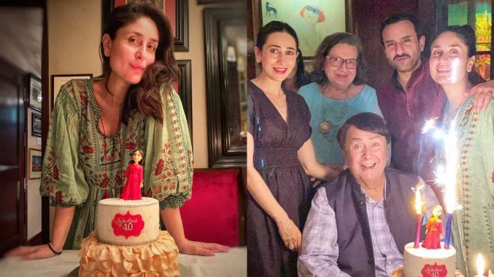 Check out inside pictures and videos from Kareena Kapoor Khan's 40the birthday celebration