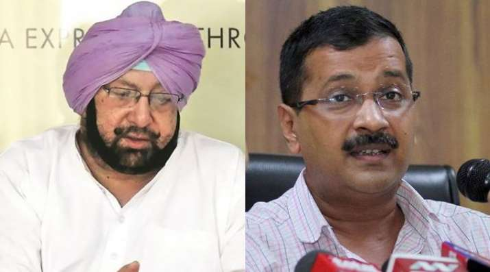 Punjab CM Amarinder warns Kejriwal against 'instigating people' amid pandemic