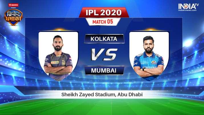 Live Streaming Kolkata Knight Riders vs Mumbai Indians: Watch KKR vs MI IPL 2020 Stream Live Cricket