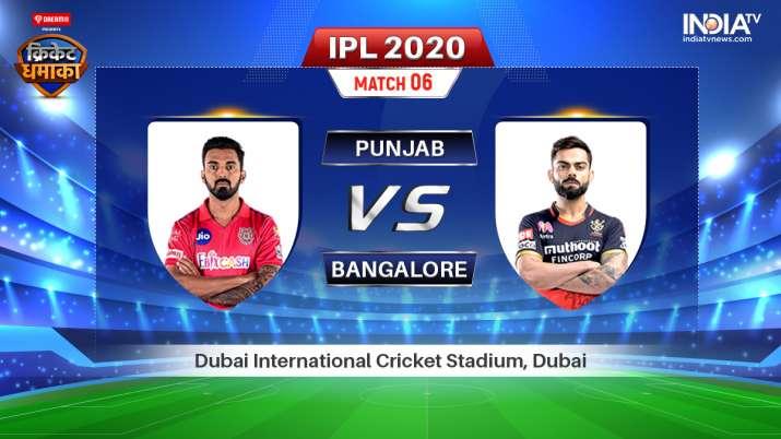 Live Streaming Kings XI Punjab vs Royal Challengers Bangalore IPL 2020: Watch KXIP vs RCB Live Match