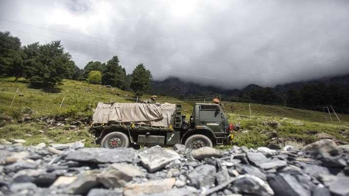 India China border tension, Pangong Tso