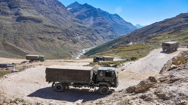 India China tension, ladakh, Pangong Tso, Pangong Lake