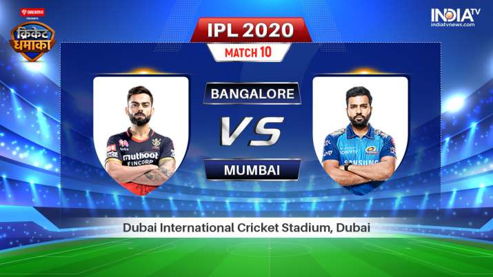 Live IPL Streaming Cricket, Royal Challengers Bangalore vs Mumbai Indians: Watch RCB vs MI Live Stre