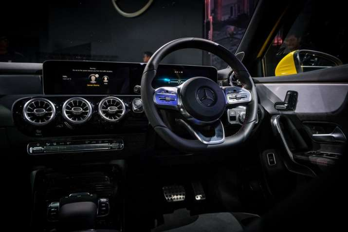 India Tv - Mercedes-Benz A-Class limousine