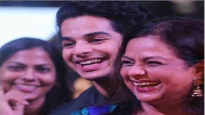 Ishaan Khatter gets emotional after watching mom Neliima Azeem on-screen, shares a heartfelt note