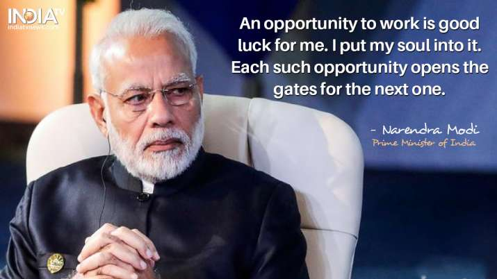 India Tv - An opportunity to work is good luck for me. I put my soul into it. Each such opportunity opens the