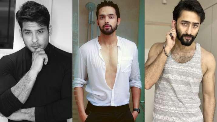 Sidharth Shukla tops the list of most desirable man on TV 2019, Parth Samthaan & Shaheer Sheikh foll