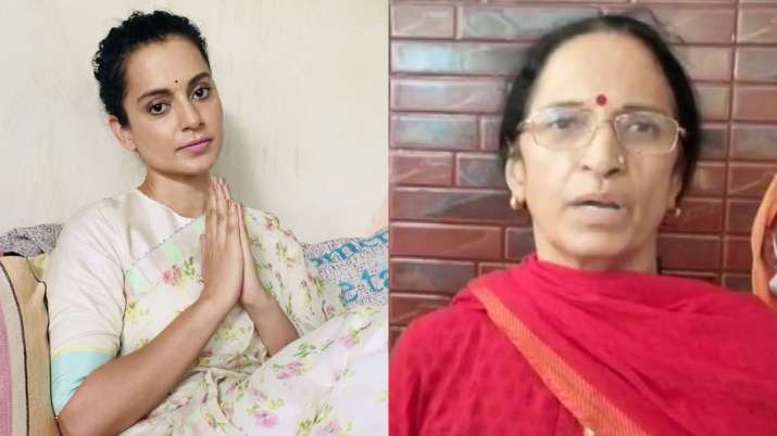 Kangana Ranaut's mother thanks PM Modi, Amit Shah for Y-plus safety to her  daughter - WORLD NEWS TODAY 24x7