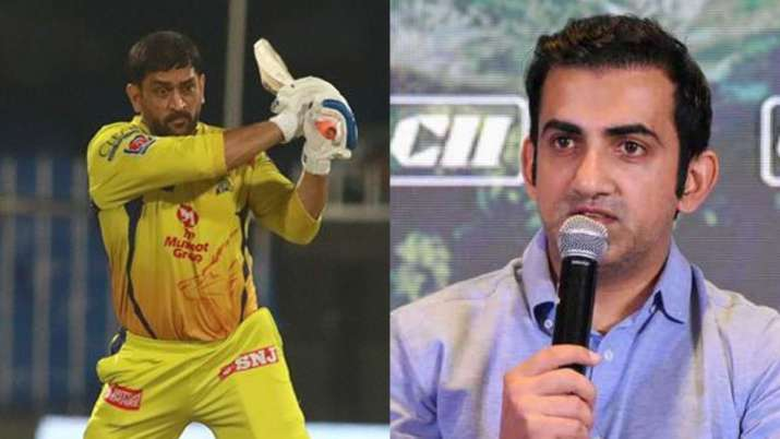 This is not what you call leading from front': Gambhir slams MS Dhoni for  batting at no.7 against RR | Cricket News – India TV
