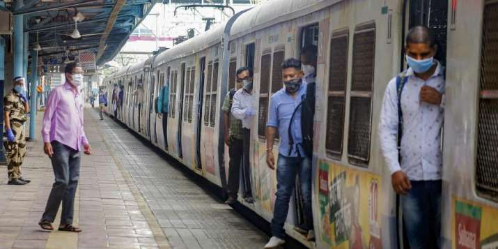 Mumbai suburban train services resume partially