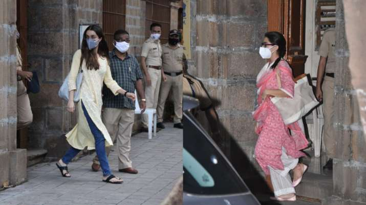 Bollywood drugs nexus: Shraddha Kapoor, Sara Ali Khan leave NCB office after questioning