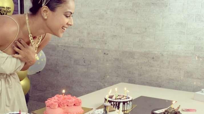 Nia Sharma replies to trolls who slammed her for 'vulgar' birthday cake