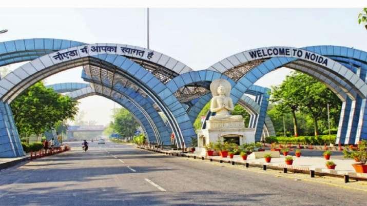 Noida, Noida biggest business hub, Uttar Pradesh, North India