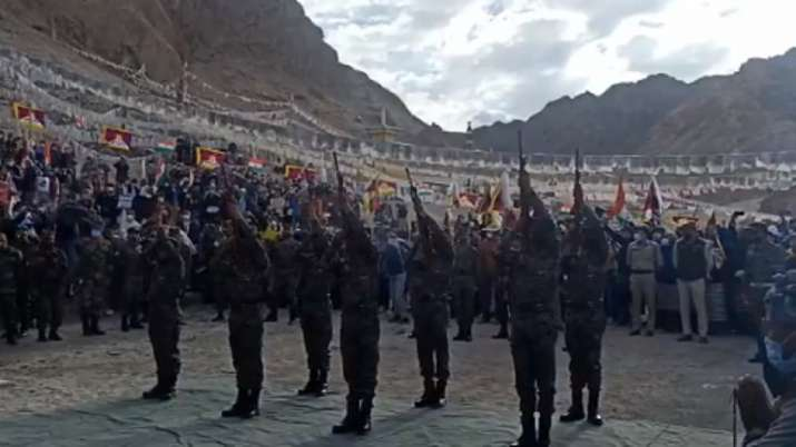 Nyima Tenzin last rites, India China tension, Tibetan