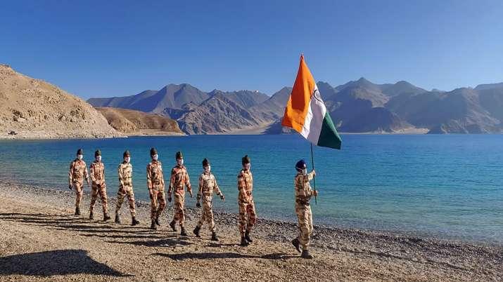 India China warning shots, Pangong, Ladakh Face off, India China tension