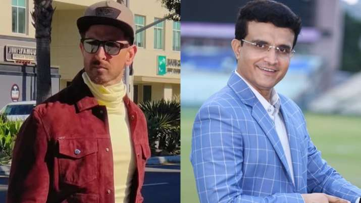 Hrithik Roshan to play Sourav Ganguly in his biopic? Here's what the cricketer has to say