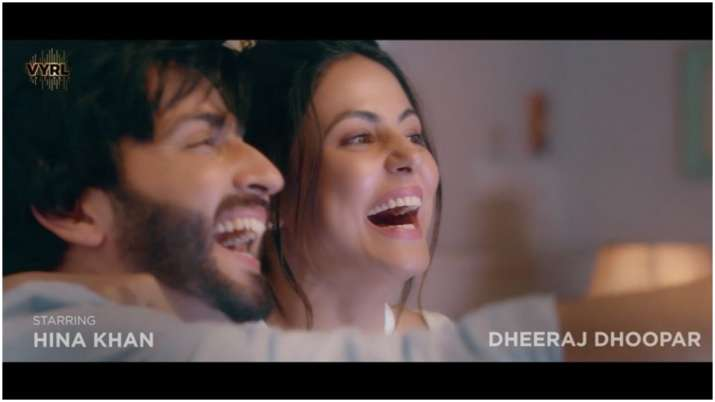 TV stars Hina Khan, Dheeraj Dhoopar in music video on love, resilience