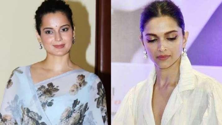 Kangana Ranaut reacts to Deepika Padukone's name surfacing in drugs probe
