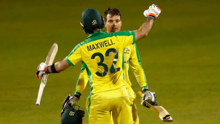 3rd ODI: Maxwell, Carey's tons power Australia to 3-wicket win over England; clinch series 2-1
